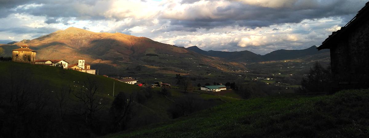 Valle Baztán arquitectura paisaje