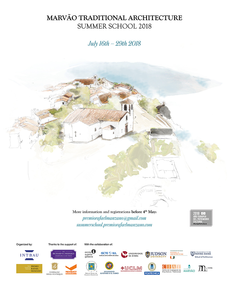 Traditional Architecture Summer School | Premio Rafael Manzano